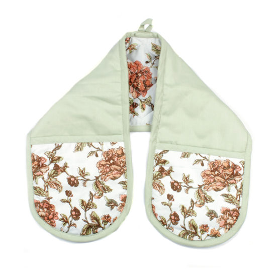 Floral Oven Glove