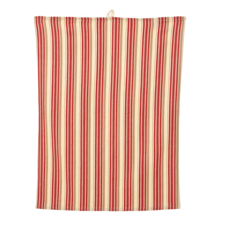Timeless Red Stripes Tea Towel PRIMARY IMAGE