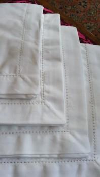 white kitchen and home textiles