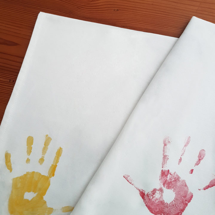 paint your own tea towel secondary image