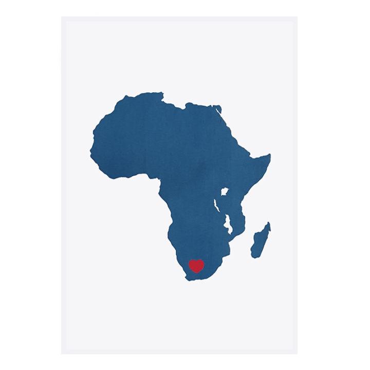 Navy & Pink Africa
