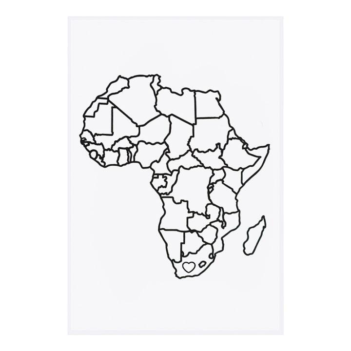 PYO Africa design tea towel