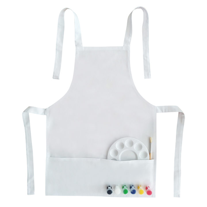 Paint Your Own Kids Apron 2