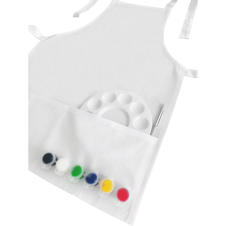 Paint Your Own Kids Apron 3